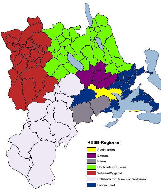 KESB-Regionen